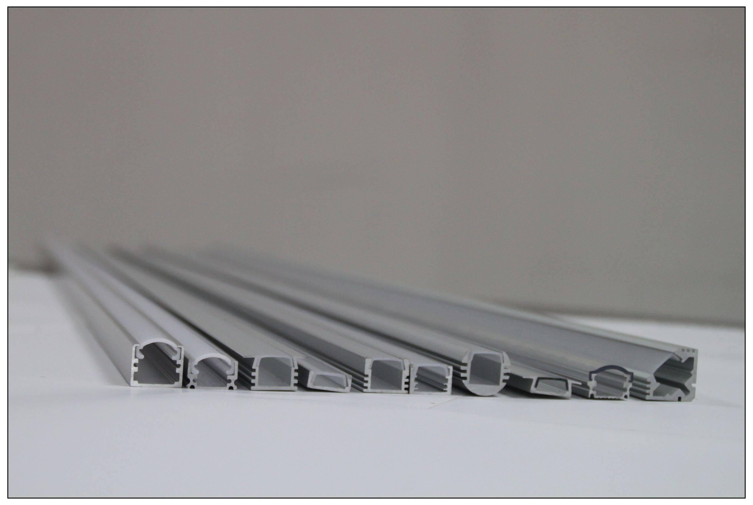 aluminum profile for led strip huareal led. Black Bedroom Furniture Sets. Home Design Ideas