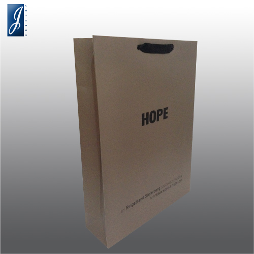 Customized large paper bag for HOPE