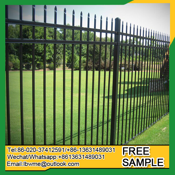 Fence supplier factory price wrought iron fence