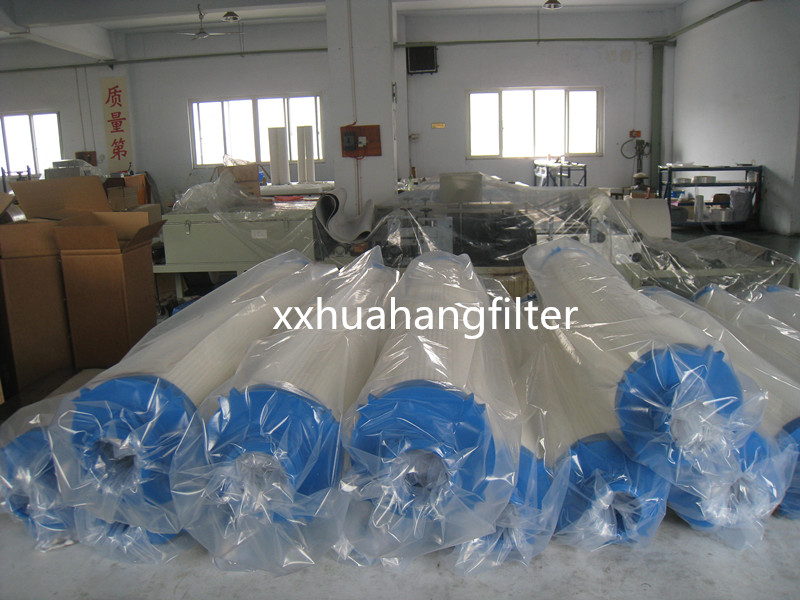 1,5,10,40,70 micron polypropylene pleated pall high flow water filters for natural solutions water f