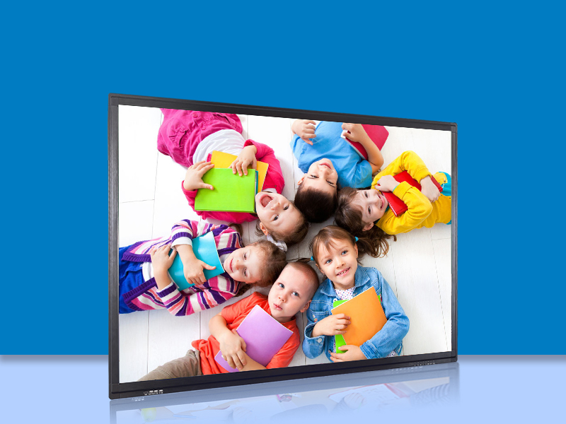 80 Inch All-in-One Dual System Touch Display Panel/ Flat Touch Screen Display/Smart TV/LED TV
