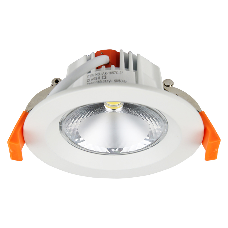 3w 7w led downlight fixture