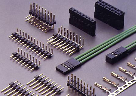 Pin Header Pcb Crimp Style Cable Connector Yueqing