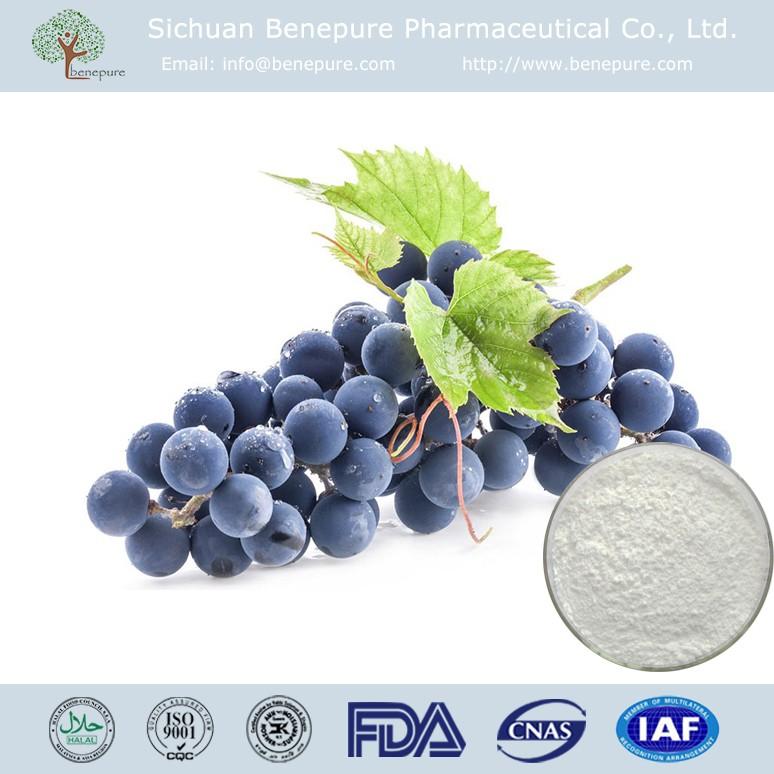 CAS 501-36-0 Grape Peel/Skin Extract 50%-99% Resveratrol