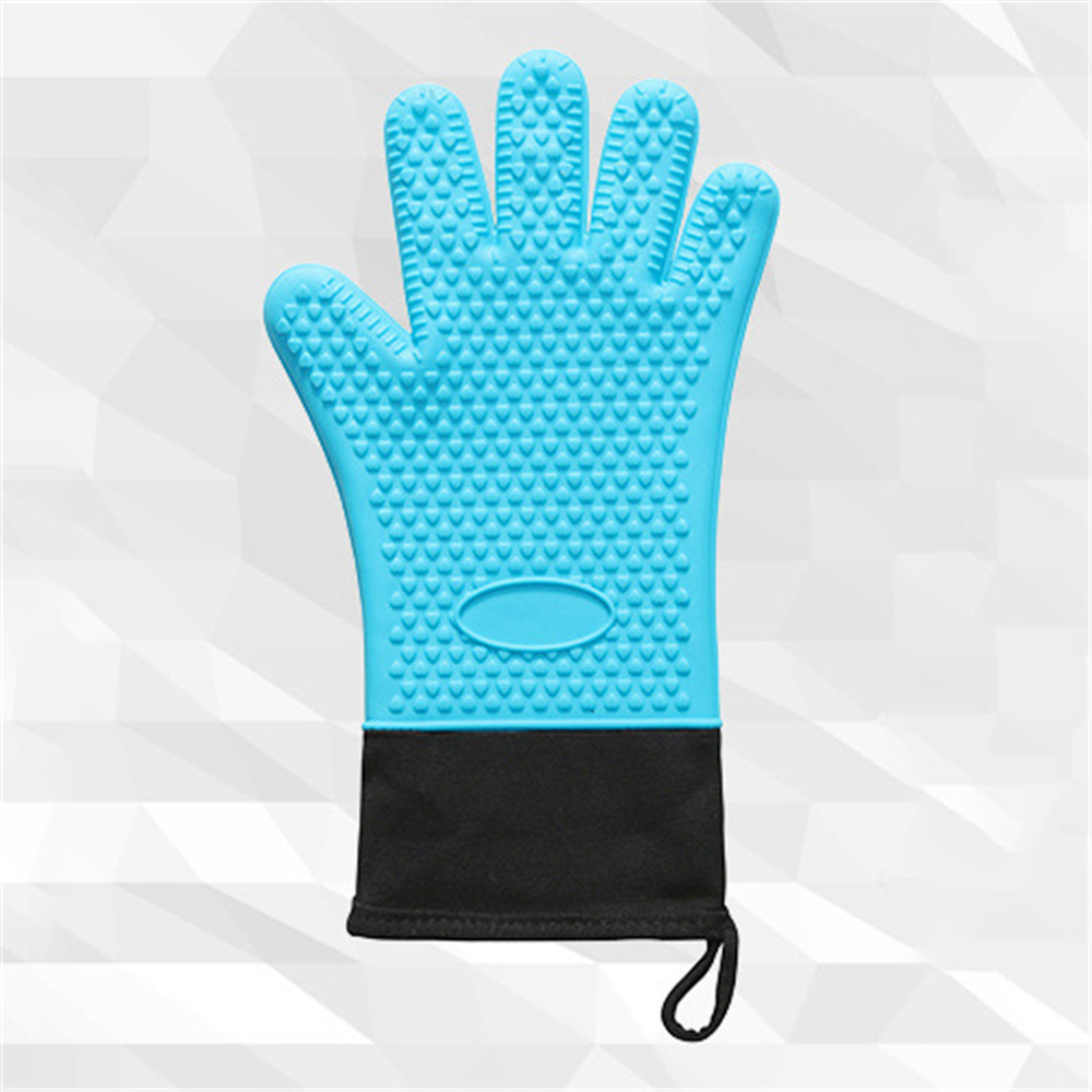 Wholesale Waterproof Household Silicone Gloves Oven Mitts