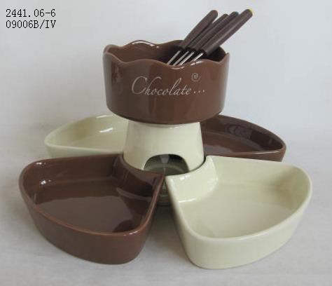 hot sale chocolate fondue set