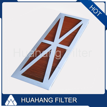 High quality hepa cleaning air for Panel air filter cartridge