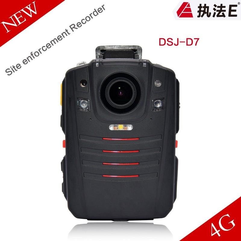 1080P Waterproof Night Vision Auto Tracking body-worn CCTV camera