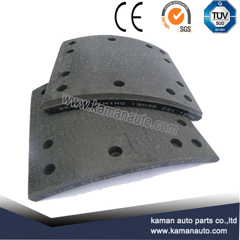 for selling brake lining WVA19036 and WVA 19037 in good quality