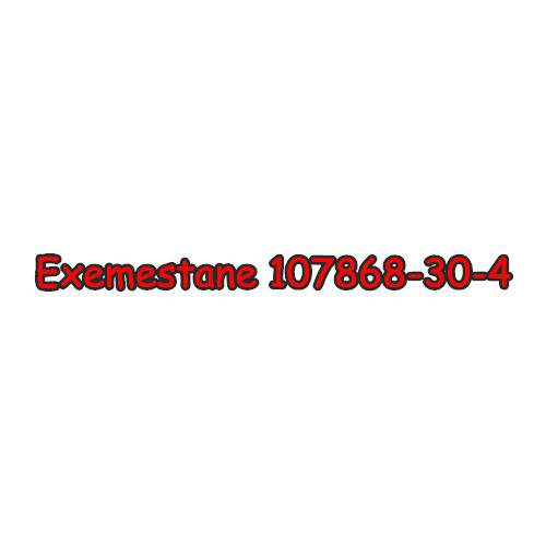 99% Purity Anti-Estrogen Anabolic Exemestane Steroid Raw CAS 107868-30-4
