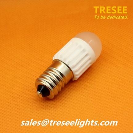 Tiny LED Lights E14 Base Sockel Small Bulbs Ceramic Body COB CHIP