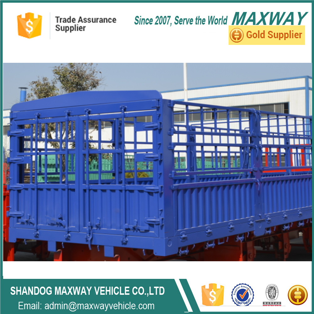 China High quality Cargo Fence truck Semitrailers