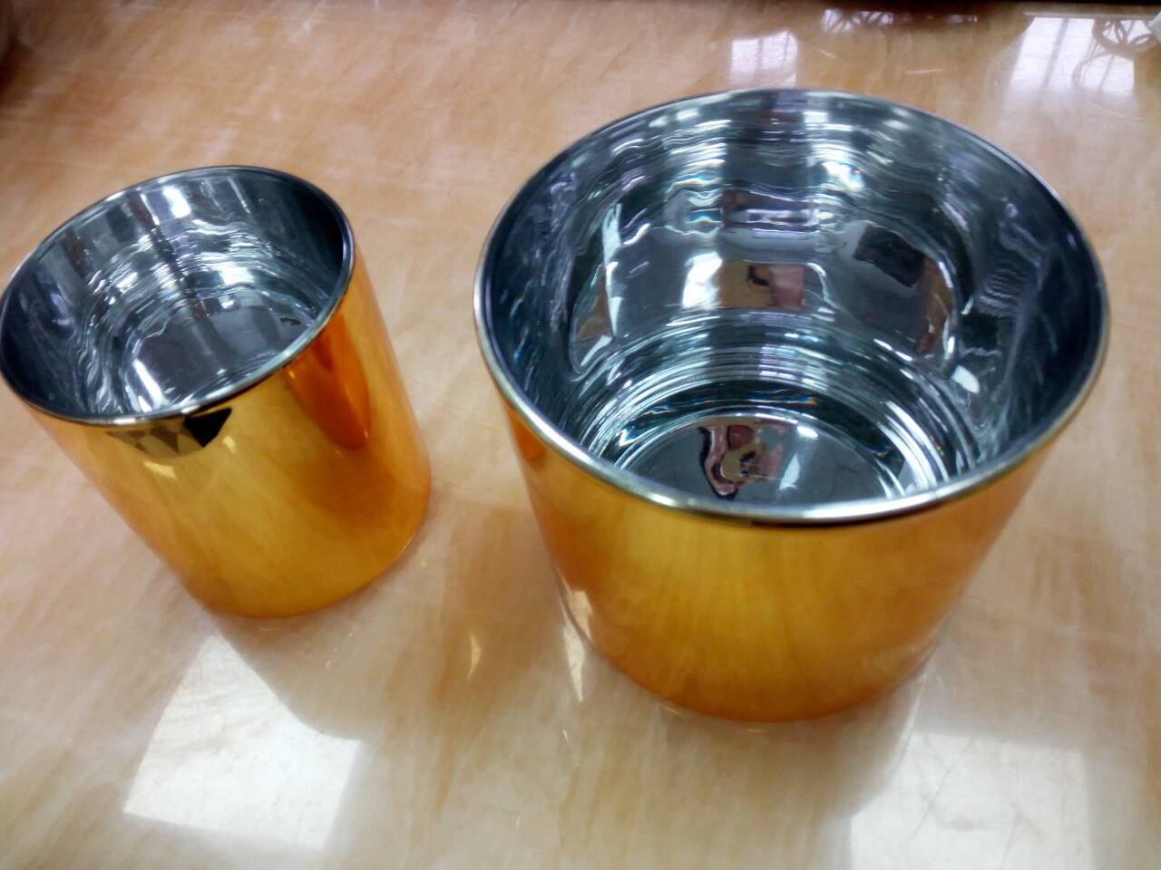 High Speed CNC Machining Prototype With Vessel Golden Painted Polishing , High Accuracy