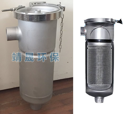 Eco Single Bag Filter Housing Size 3 Stainless Steel Bag