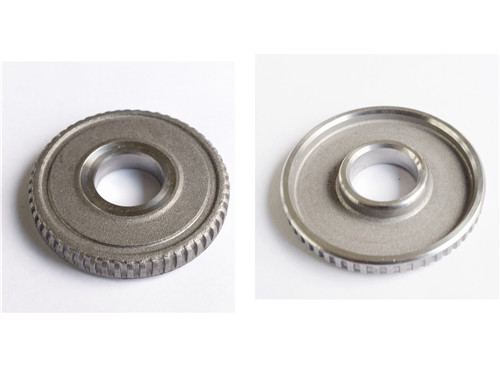 cold extrusion steel hub in turbine rotor for auto