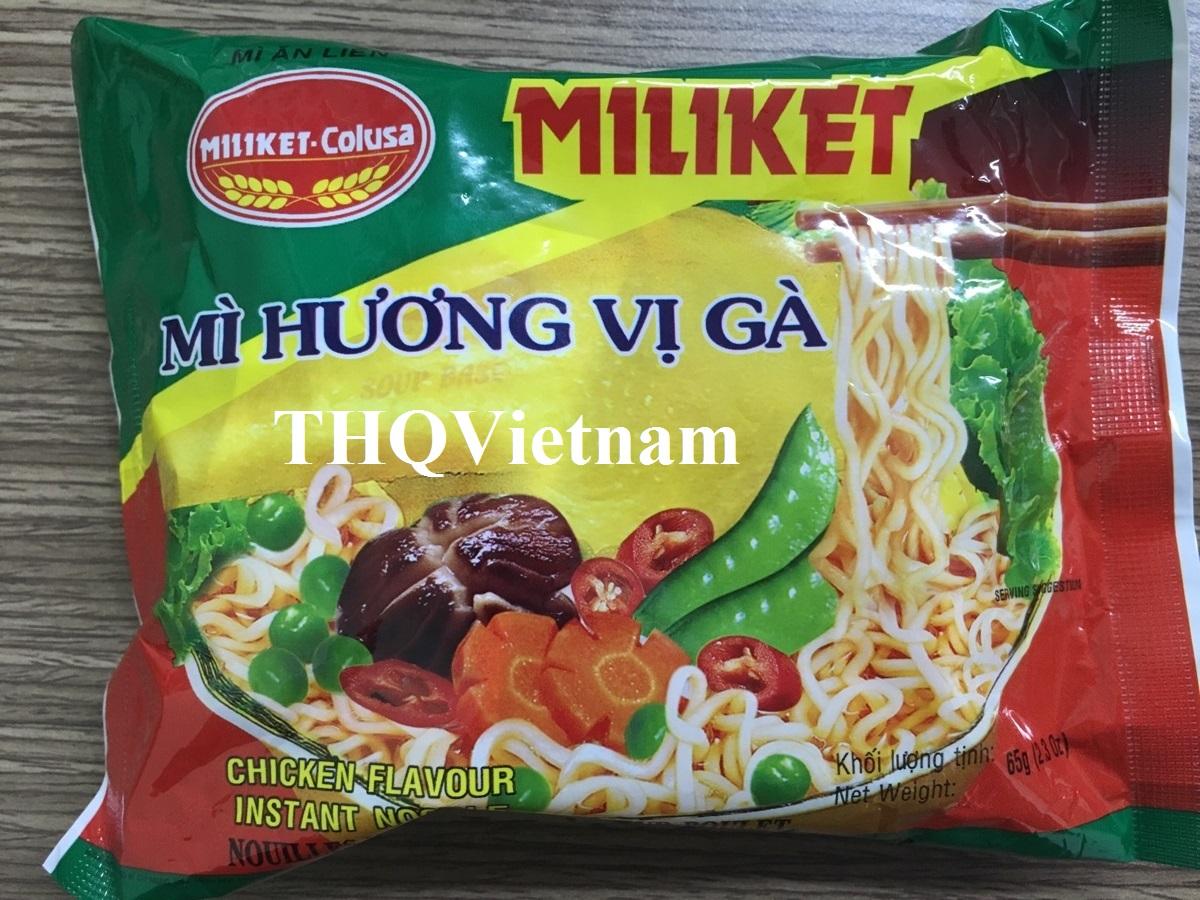 Miliket Instant Noodle 65gr24pacs