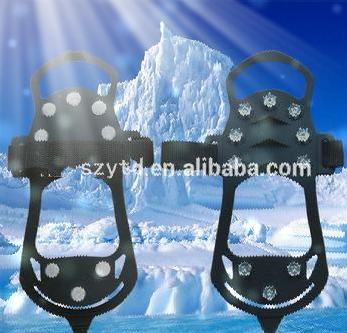 safety lightweight anti slip ice shoe