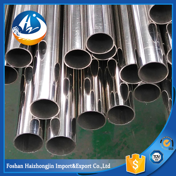 2inch 304L welded stainless steel round pipe tubes polish 316/316l