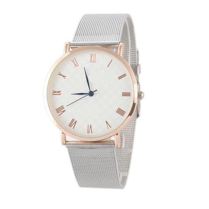 Yxl-323 Wholesale High Quality Mesh Band Steel Watch Quartz Sport Luxury Hottest Wrist Watch for Men
