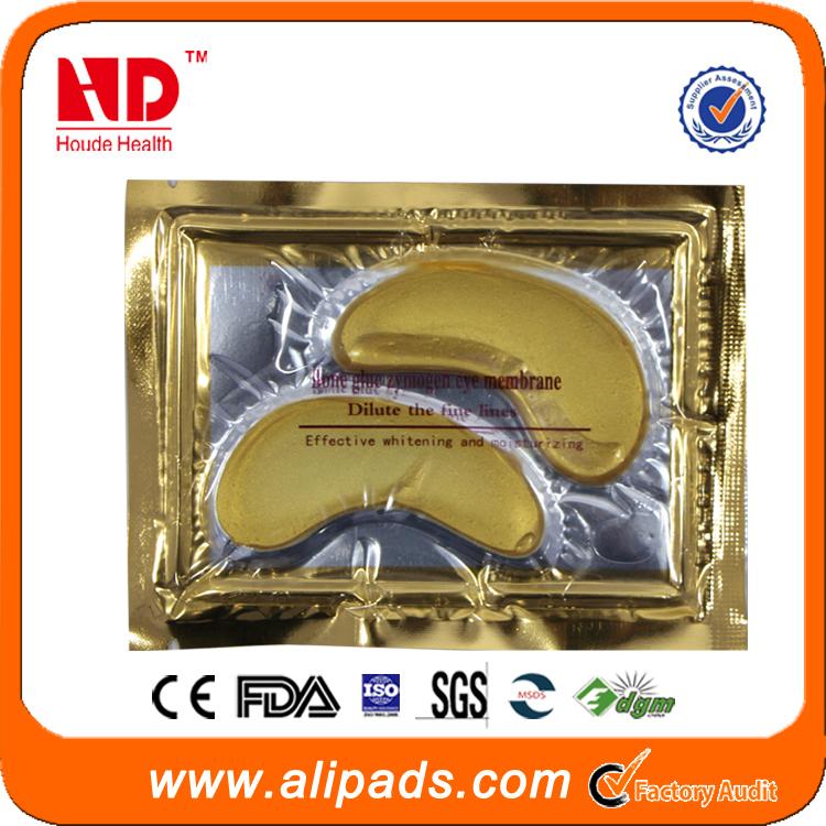 Best sale Gold Crystal Collagen Eye Mask for anti dark circle