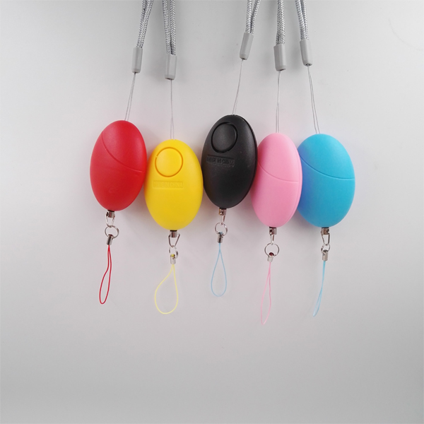 Six Colors Best selling Portable Personal Emergency Alarm/Panic Alarm for women/Egg Attack Alarm