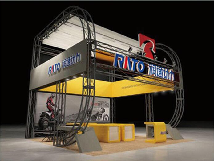 Truss system for large size exhibition event show fair acting conference,steel truss