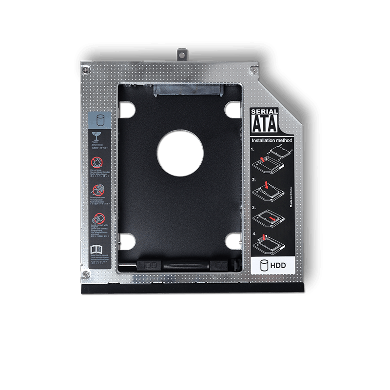 """9.5mm sata hdd caddy adapter sata to sata for sata 2.5"""" hard disk"""