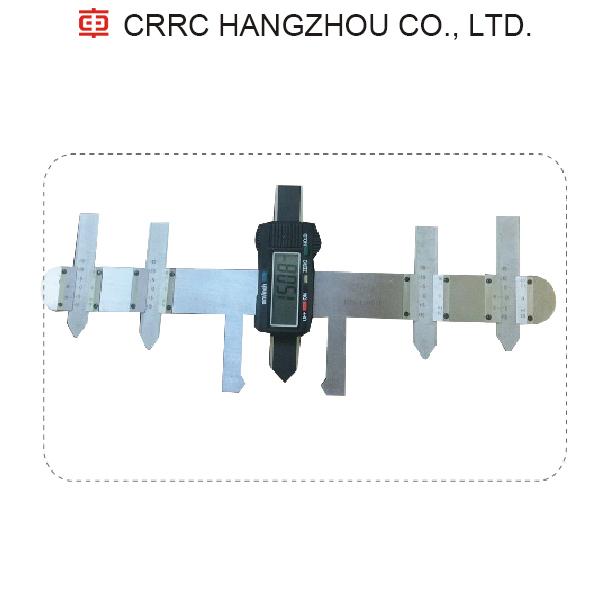 Fork abrasion measuring device CRRC For Rail