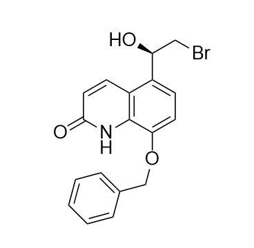 (R)-8-(Benzyloxy)-5-(2-bromo-1-hydroxyethyl)quinolin-2(1H)-one