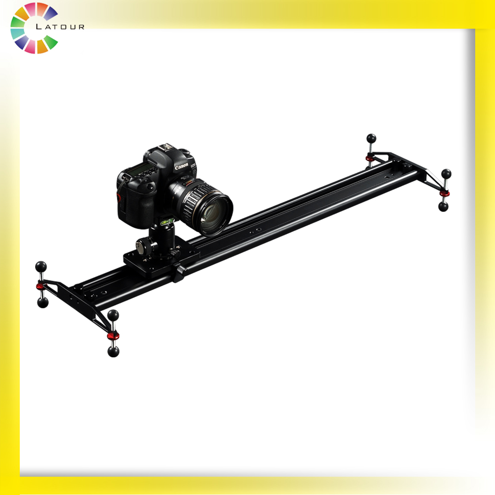 Manufactory Powerful Aluminum Alloy Dolly 80cm Heavy Appliance Camera Slider