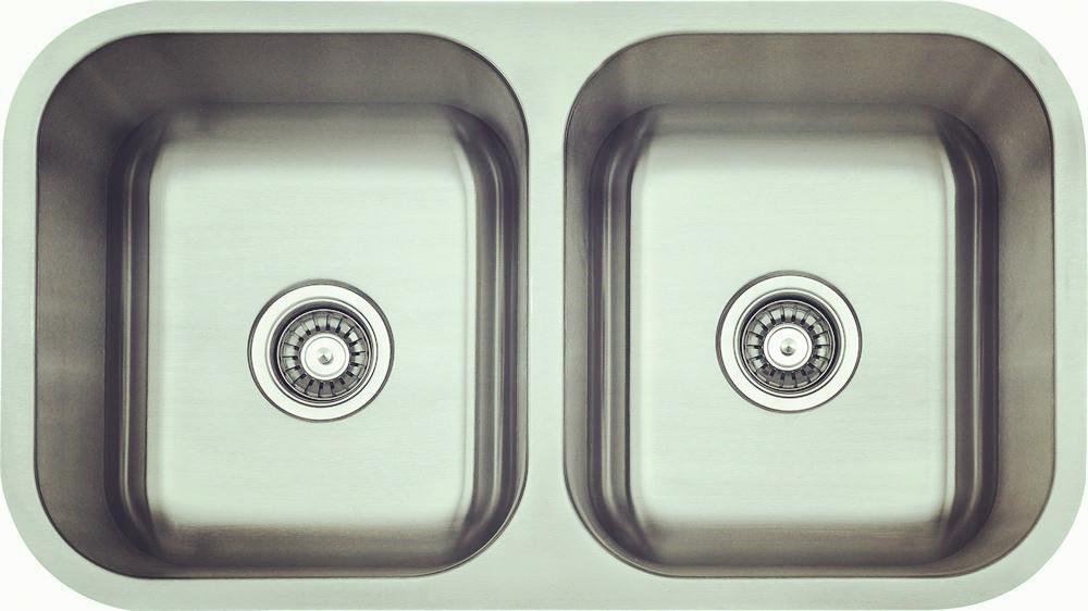Undermount double bowl-KBUD3118