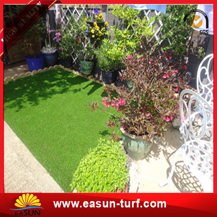 good quality natural artificial landscape lawn grass turf-Donut
