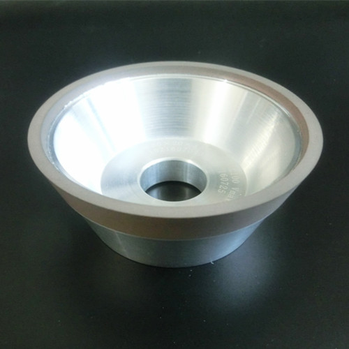 11V2 Resin Bond Diamond Cup Grinding Wheel Diamond Wheel for Grinding Carbide Surface