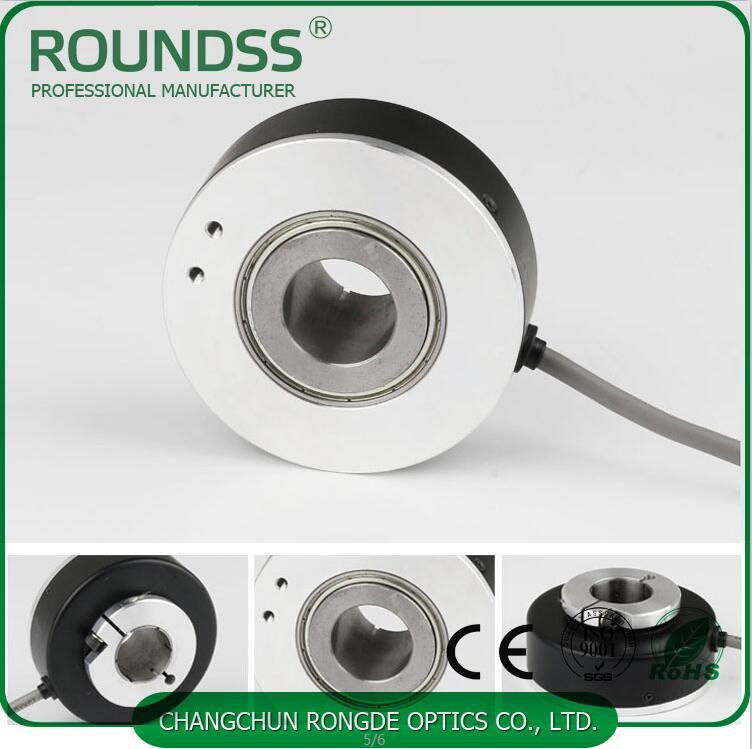 100mm Diameter Rotary Elevator Encoder Optical Hollow Shaft