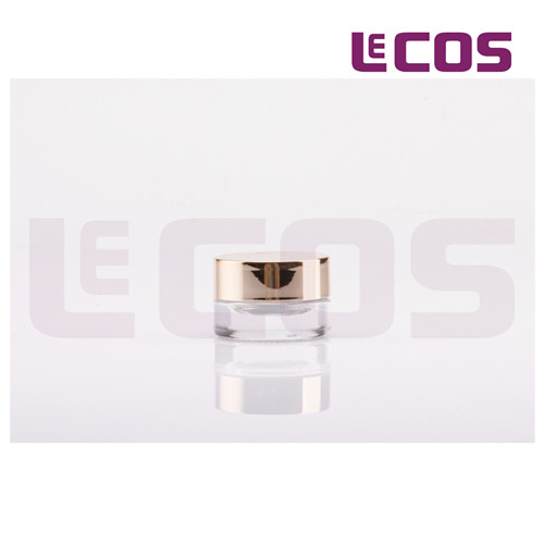 3g round glass Jar container