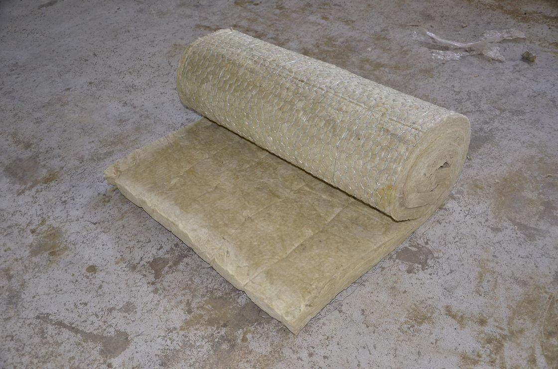 High Quality Thermal Insulation Rock mineral Wool Blanket