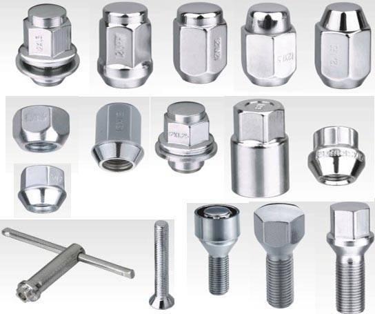 Wheel Lug Nuts, Wheel Accessories, Rim Bolt, Nut, Spacer