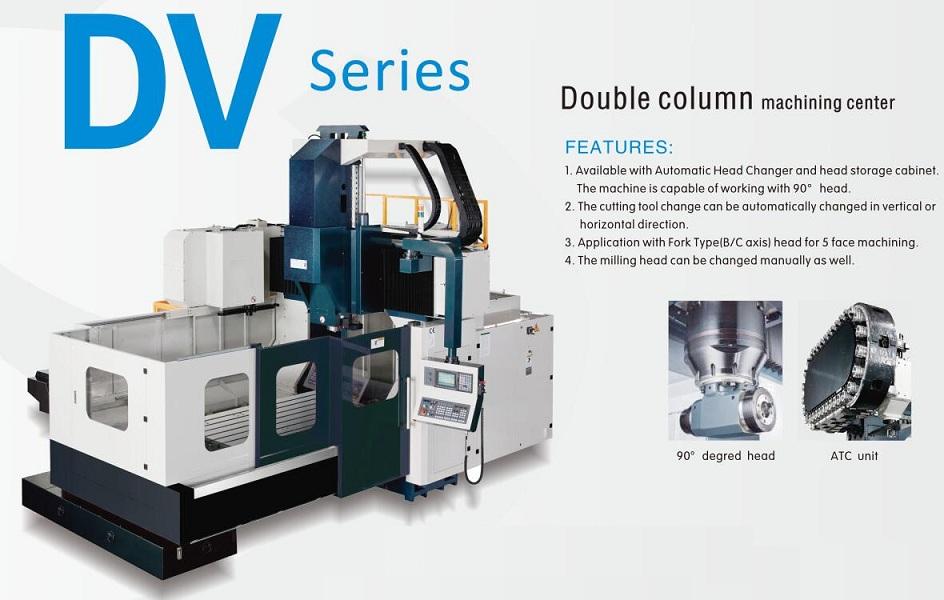 DV series gantry machining machinery