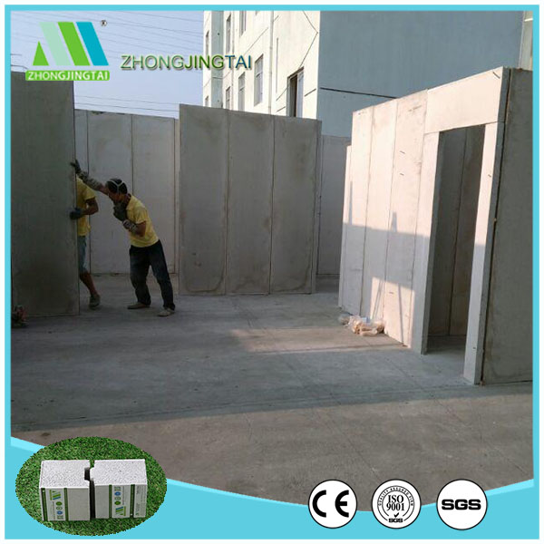 energy saving fiber cement EPS sandwich panel for factory
