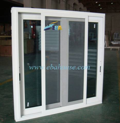 Aluminum Sliding Window With Mosquito Net