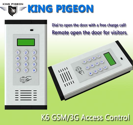 GSM 3G Access Control & Apartment Intercom K6