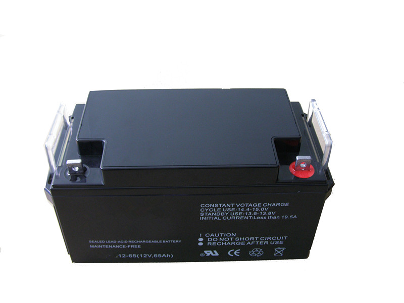 6FM-65ah vrla deep cycle rechargeable lead acid battery