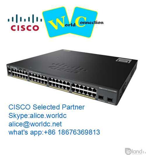 48 port 10gb cisco switches WS-C2960X-48LPD-L