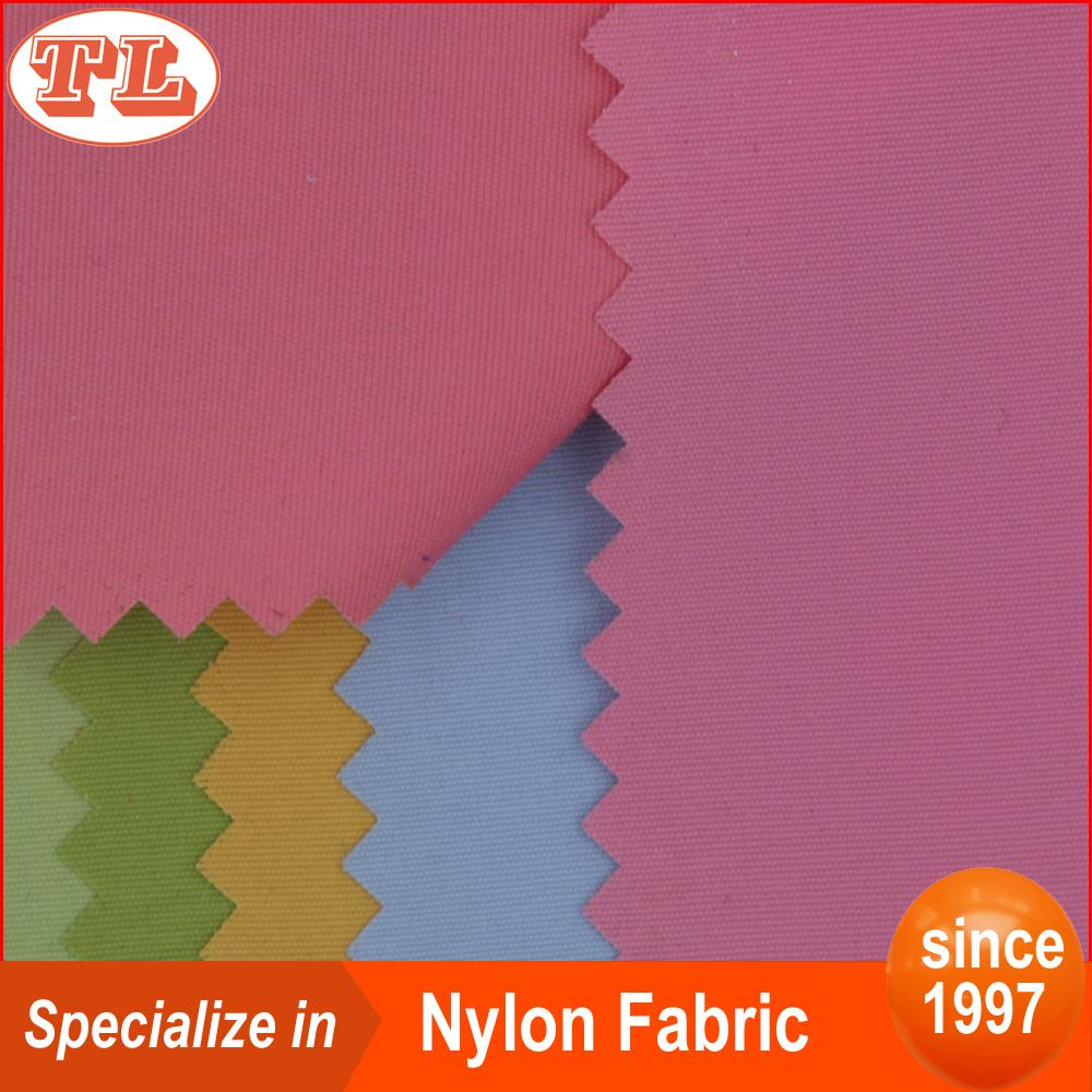 100% nylon waterproof 228T nylon taslan fabric for jacket