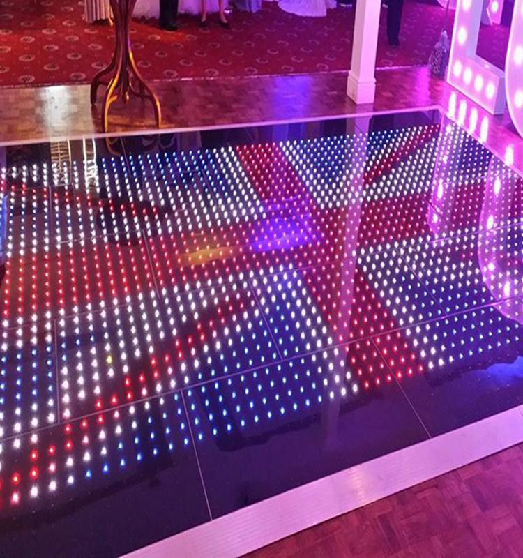 Led video dance floor led dance floor tiles