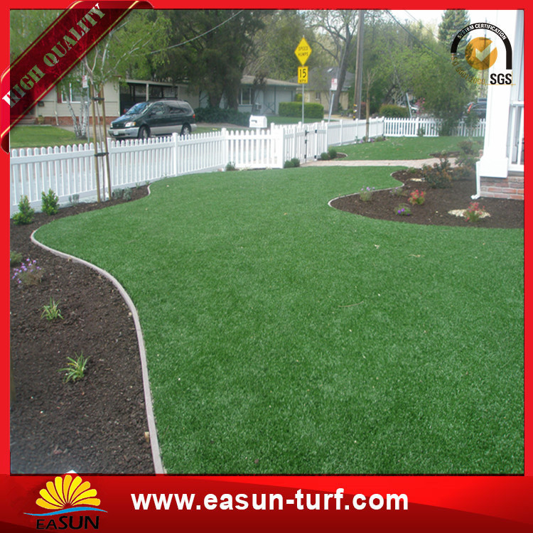 Home leisure  docorative artificial grass turf green for swimming pool-Donut