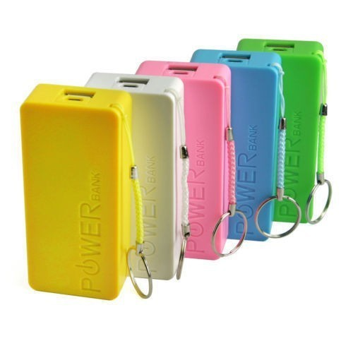 Real Capacity Universal Use Portable 5200mah Power Bank for Blackberry