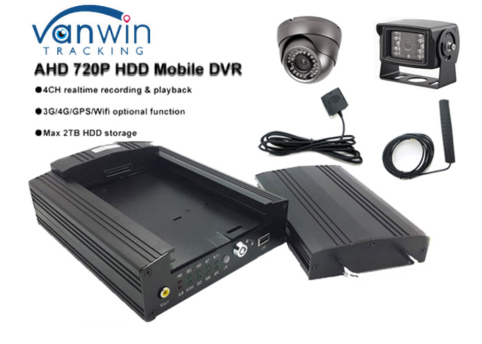 2017 new design AHD 1080P 4CH HDD Mobile DVR with GPS, 3G/4G/WIFI Optional, MDVR