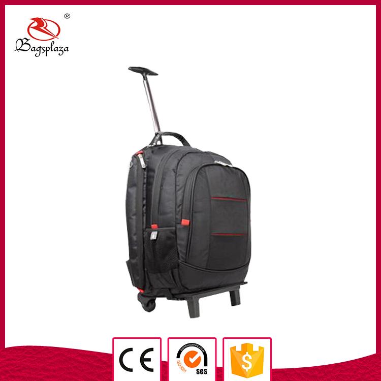nylon cheap bag hot item trolley bag backpack for men