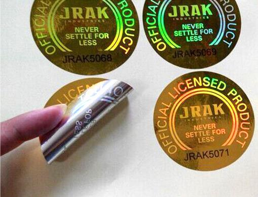 Customized Hologram Sticker,3D Laser Anti-Counterfeit labels, Cheap Price Security Seal Labels